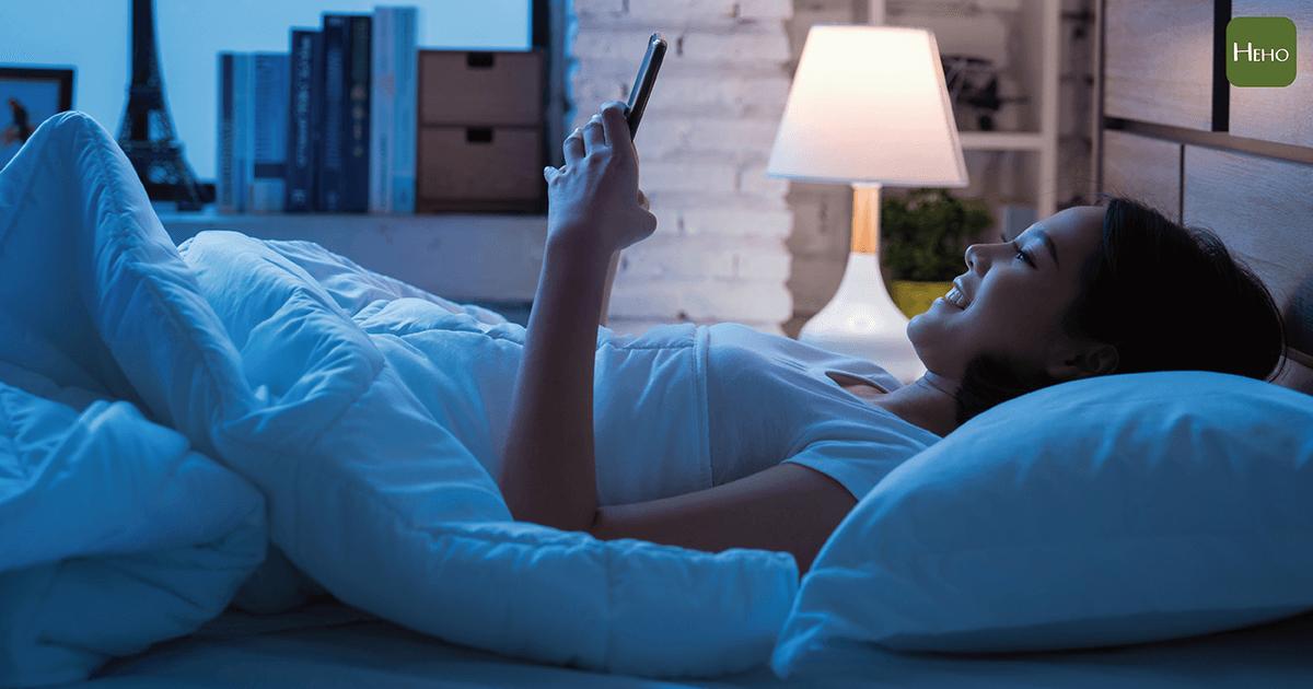 戒除睡前4個NG習慣,讓你健康更長壽!