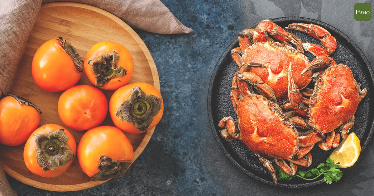 柿子不能與螃蟹一起吃?老祖宗說的食物相剋,聽聽就好