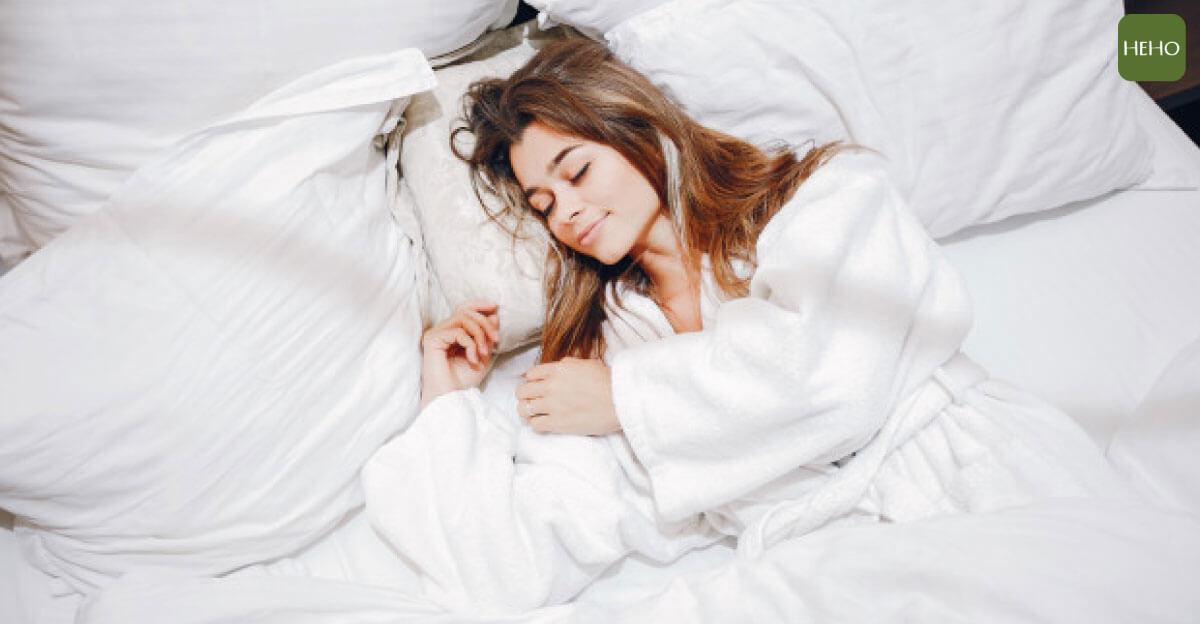 睡覺是最好的補品!睡好美容覺就能減肥不變老
