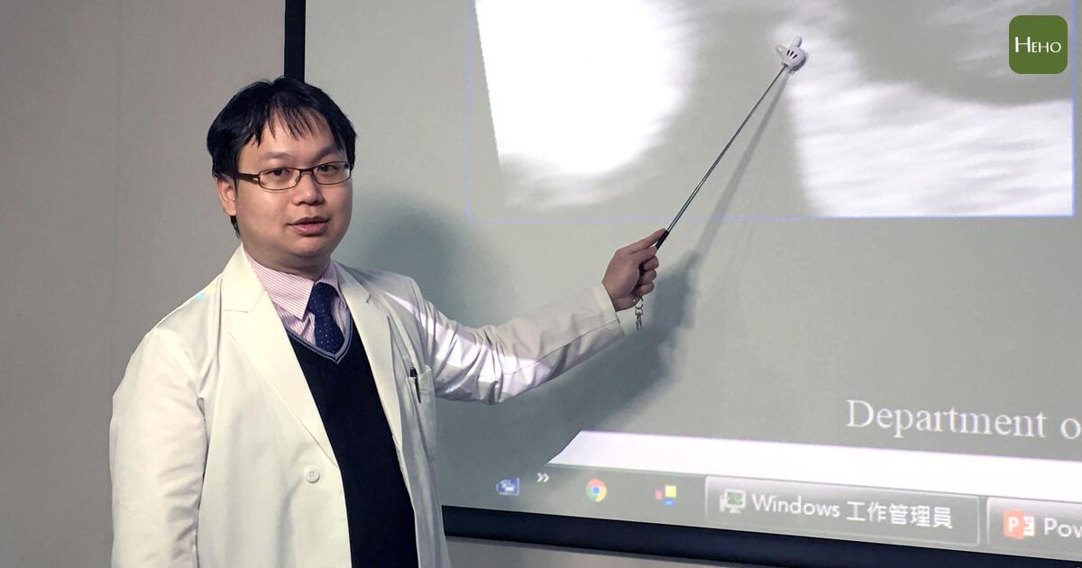 蘇德晟醫師指出整合性影像下肝癌患部影像