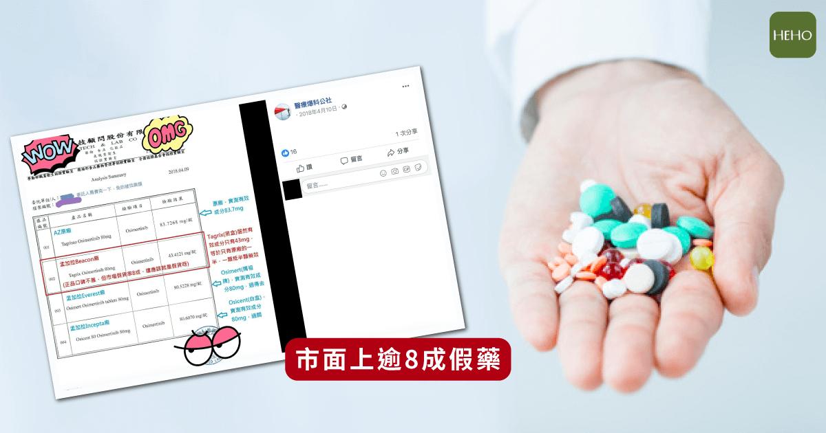 肺癌患者孟加拉買標靶藥物救命 但逾8成是假藥