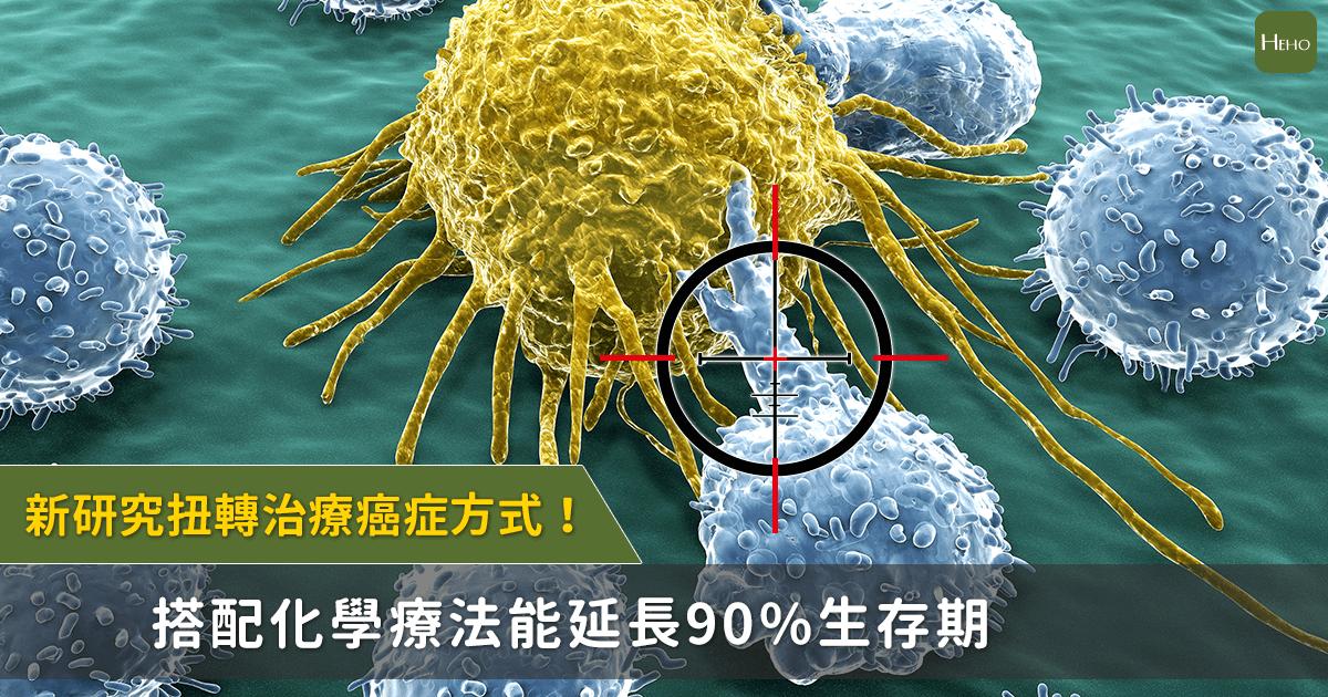 讓癌症治療不再產生抗藥性!新研究結合化療,延長90%生存期