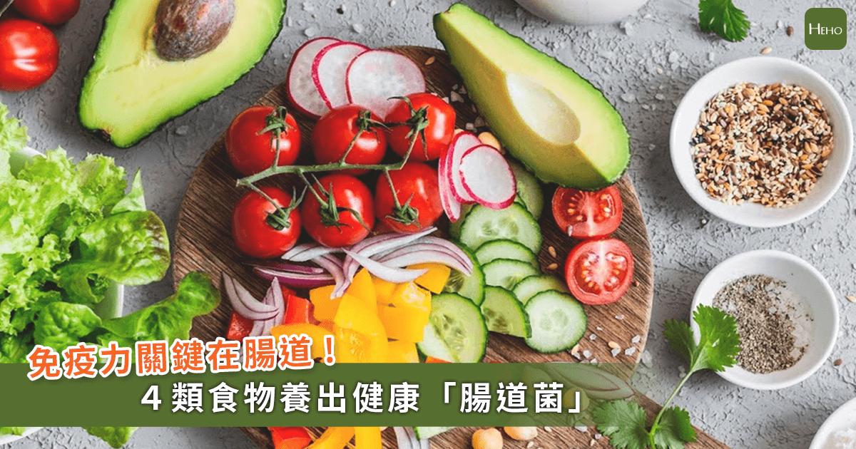 打造超強體質!腸道有7成免疫細胞,多吃4大類食物顧好「腸道菌」