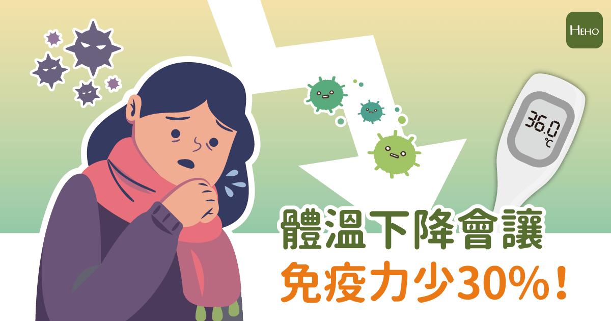 體溫下降免疫力少30%!日本醫學博士:逆轉癌症、病毒感染風險就靠一招