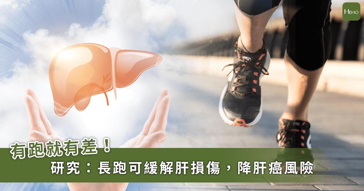 肝炎、脂肪肝都會惡化成肝癌!研究:長跑活化抗癌基因,是最佳預防手段