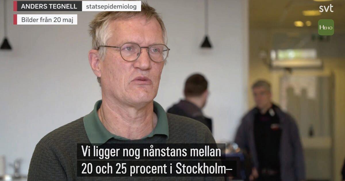 瑞典群體免疫策略下死亡率達11%!推估首都僅有7.3%人有抗體