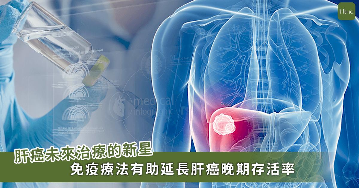 肝癌也能用免疫抑制劑療法!晚期療效超過標靶治療、平均延長9.9月壽命
