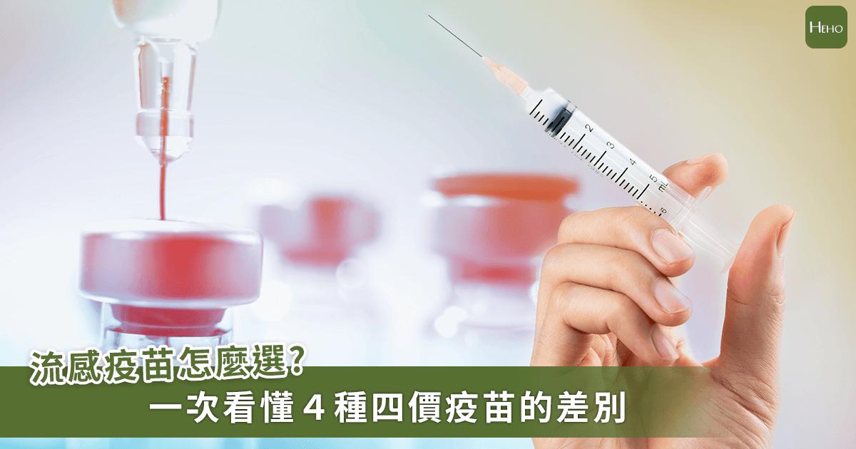兩大原因自費流感疫苗預約人數增加!一次看懂今年四價疫苗比較