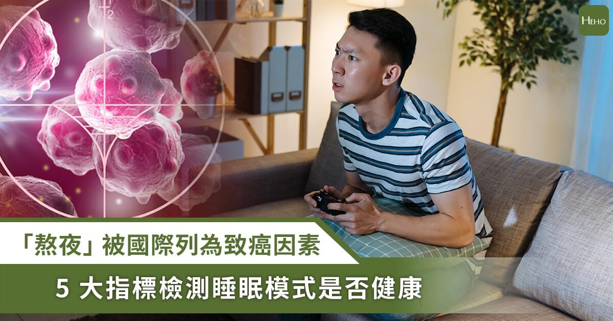20201216_「熬夜」被WHO列為致癌因子!你還熬夜嗎?5大指標檢測健康睡眠指數