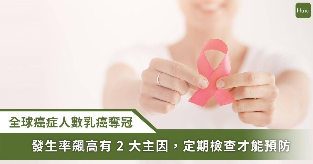 20210308_230 萬名女性確診乳癌,2 大原因、4 種預防方式一次看