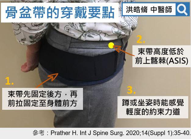 骨盆帶改善腰痠瘦小腹?中醫師:配合手法矯正更有效