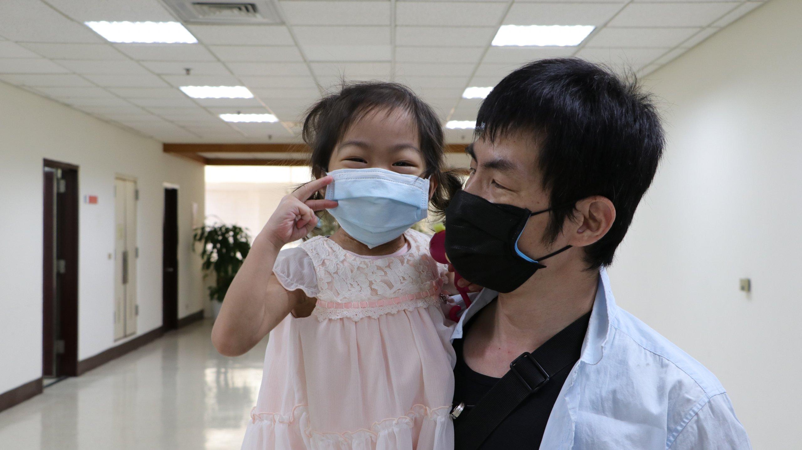 我們也希望能平安健康的長大!幼兒大愛捐腎 二童重獲「腎」利人生